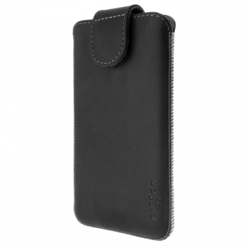 Pouzdro na mobil FIXED Posh, velikost 4XL+ černé
