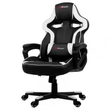 Herní židle Arozzi MILANO černá/bílá