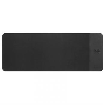 Podložka pod myš Canyon QI bezdrátovým nabíjením 5W, 80 x 30 cm černá