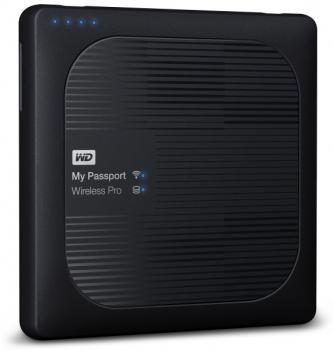 """Externí pevný disk 2,5"""" Western Digital Wireless Pro 2TB černý"""