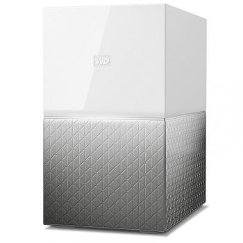 Datové uložiště (NAS) Western Digital My Cloud Home Duo 8TB LAN bílé