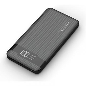 Powerbank Viking 10000mAh QC3.0, USB-C, Lightning černá