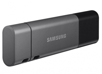 USB Flash Samsung Duo Plus 128GB USB-C šedý