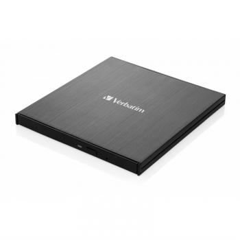 Externí Blu-ray vypalovačka Verbatim Blu-ray Slimline USB 3.1 Gen 1 (USB-C) černá