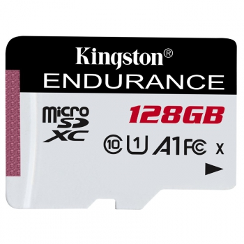 Paměťová karta Kingston Endurance microSDXC 128GB (95R/45W)