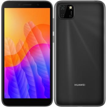 Mobilní telefon Huawei Y5p (HMS) černý