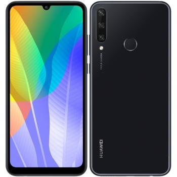 Mobilní telefon Huawei Y6p (HMS) černý