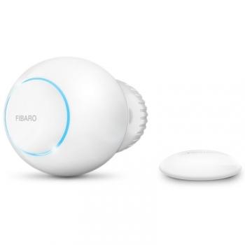 Bezdrátová termohlavice Fibaro a teplotní čidlo, Z-Wave Plus