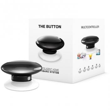 Tlačítko Fibaro Button, Z-Wave Plus černé