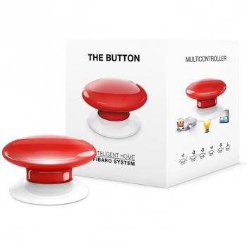 Tlačítko Fibaro Button, Z-Wave Plus červené