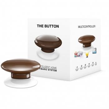 Tlačítko Fibaro Button, Z-Wave Plus hnědé