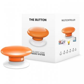 Tlačítko Fibaro Button, Z-Wave Plus oranžové