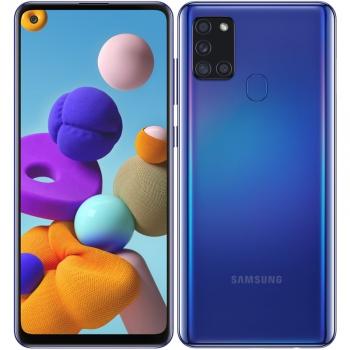 Mobilní telefon Samsung Galaxy A21s 32 GB modrý
