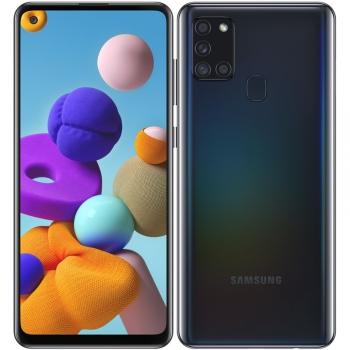 Mobilní telefon Samsung Galaxy A21s 64 GB černý
