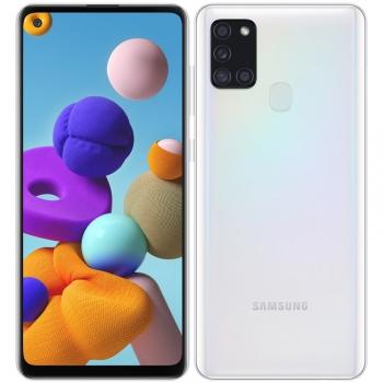 Mobilní telefon Samsung Galaxy A21s 64 GB bílý