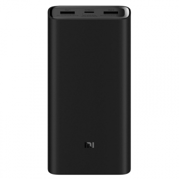 Powerbank Xiaomi Mi Pro 3 20000mAh, USB-C černá