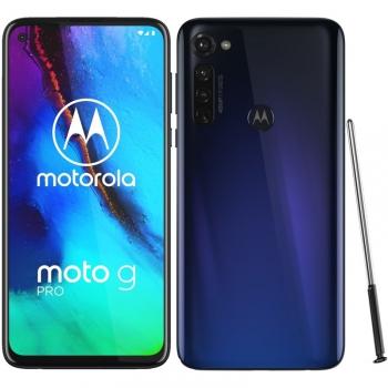 Mobilní telefon Motorola Moto G Pro se stylusem - Graphene Blue