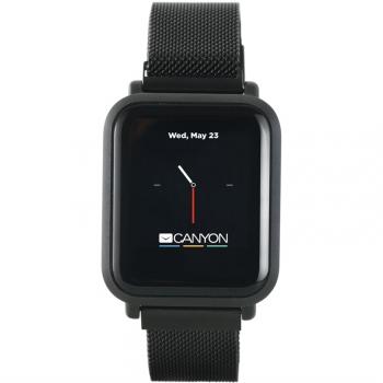 Chytré hodinky Canyon Sanchal černý