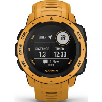 GPS hodinky Garmin Instinct Yellow Optic