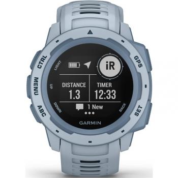 GPS hodinky Garmin Instinct Light Blue Optic