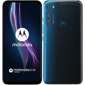 Mobilní telefon Motorola One Fusion+ modrý