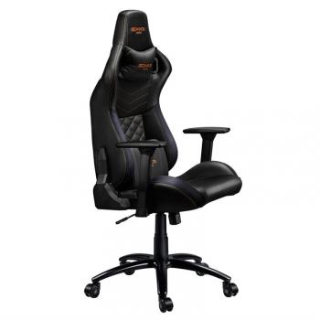 Herní židle Canyon Nightfall černá/oranžová