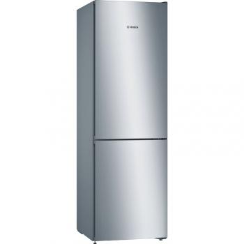 Chladnička s mrazničkou Bosch Série 4 KGN36VLEC nerez