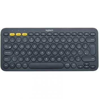 Klávesnice Logitech Bluetooth Keyboard K380, US šedá