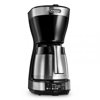 Kávovar DeLonghi ICM 16731 černý/stříbrný