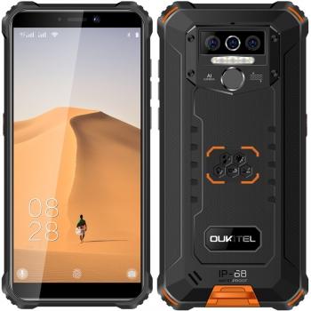 Mobilní telefon Oukitel WP5 černý/oranžový