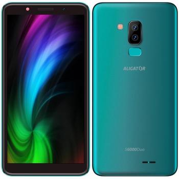 Mobilní telefon Aligator S6000 Dual SIM zelený