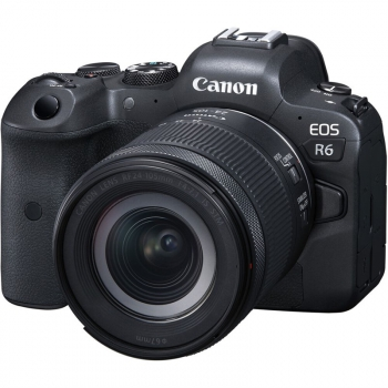 Digitální fotoaparát Canon EOS R6 + RF 24-105mm f/4-7.1 IS STM černý