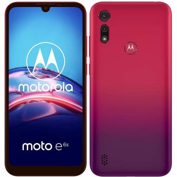 Mobilní telefon Motorola Moto E6s Plus červený