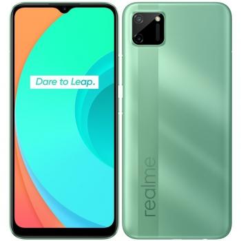 Mobilní telefon realme C11 zelený