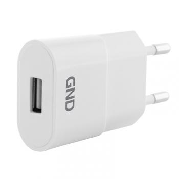 Nabíječka do sítě GND 1x USB, 1A bílá
