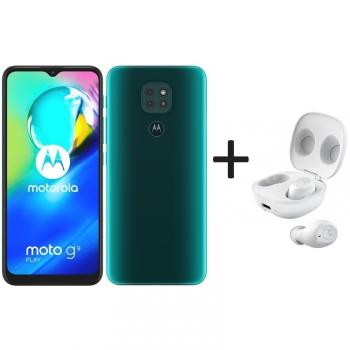 Mobilní telefon Motorola Moto G9 Play - Forest green + Moto Buds