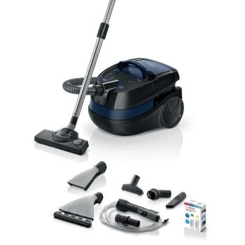Víceúčelový vysavač Bosch BWD41700 šedý/modrý