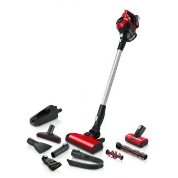 Tyčový vysavač Bosch Unlimited S6 BBS61PET2 červený