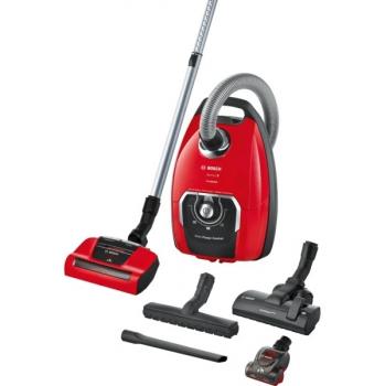 Podlahový vysavač Bosch BGB8PET1 červený