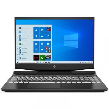 Notebook HP Pavilion Gaming 15-dk0601nc černý/bílý