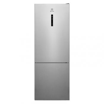 Chladnička s mrazničkou Electrolux LNT7ME46X2 šedá