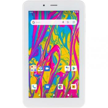 Dotykový tablet Umax VisionBook T7 3G stříbrný/bílý