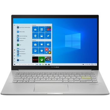 Notebook Asus VivoBook KM413IA-EB356T stříbrný