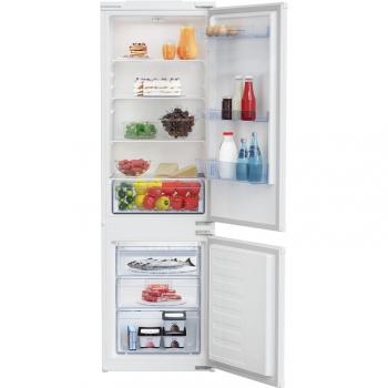 Chladnička s mrazničkou Beko BCSA285K4SN bílé