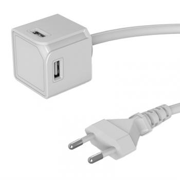 Nabíječka do sítě Powercube Extended 4x USB bílá