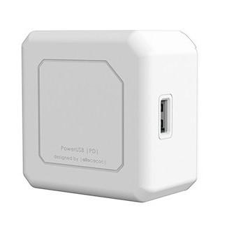 Nabíječka do sítě Powercube 2x USB, 2x USB-C PD 60W bílá