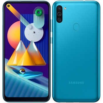 Mobilní telefon Samsung Galaxy M11 modrý