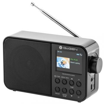Radiopřijímač s DAB+ GoGEN DAB 500 BTC černý