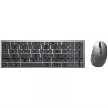 Klávesnice s myší Dell Multi-Device KM7120W, CZ/SK šedá