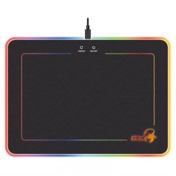 Podložka pod myš Genius GX Gaming GX-Pad 600H RGB podsvícení, 35 x 25 cm černá